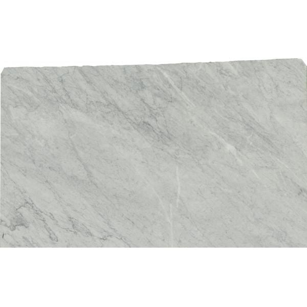 White Carrara Honned - Granite Countertop Solutions Slab